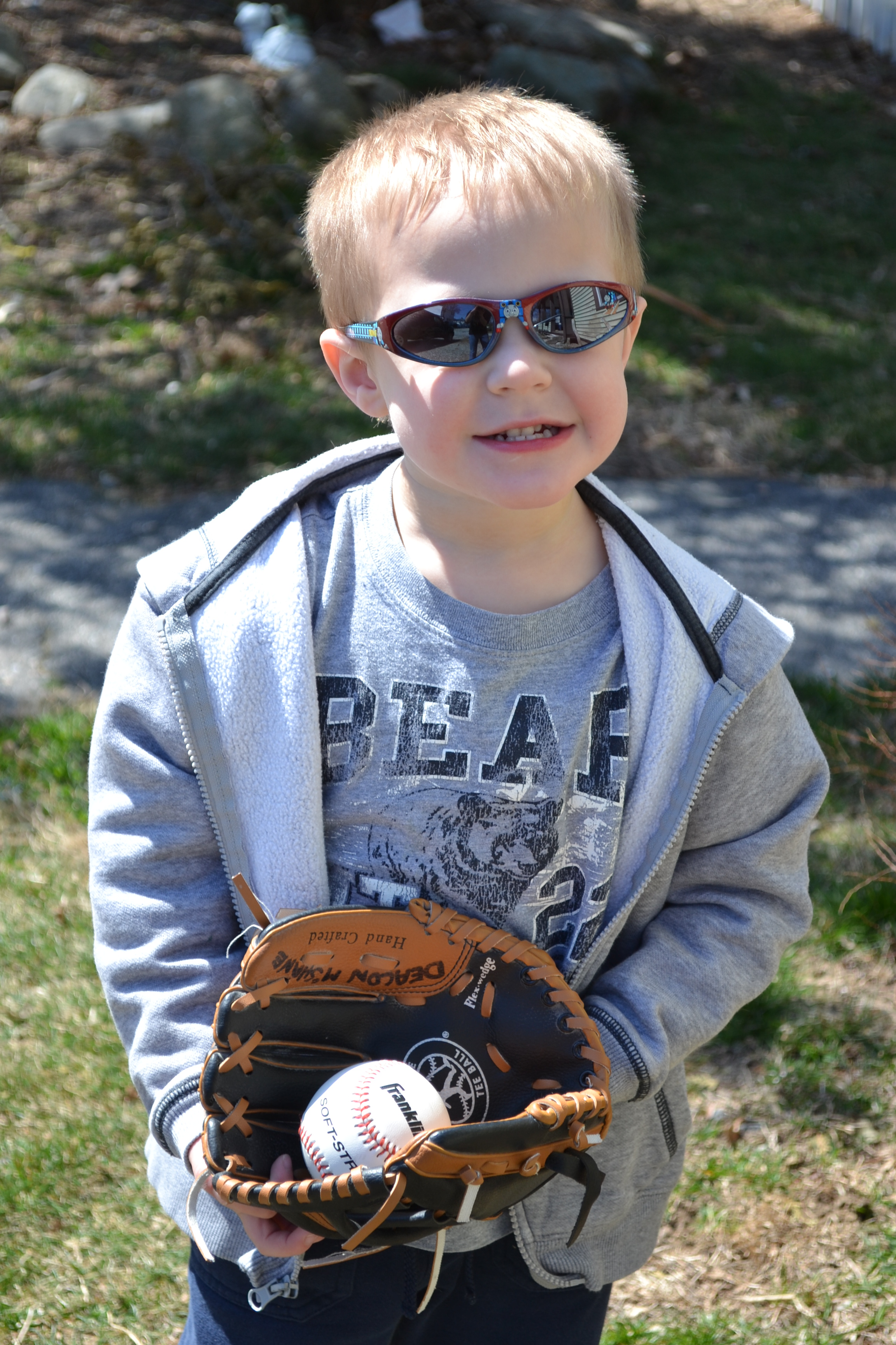 Wordless Wednesday – We're Ready For Some Ball